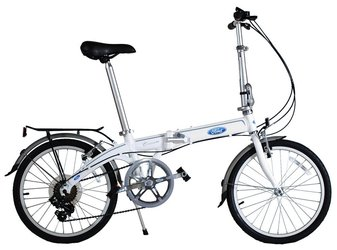 Городской велосипед DAHON Convertible White (2016)