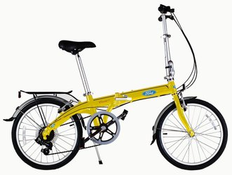 Городской велосипед DAHON Convertible Yellow (2016)