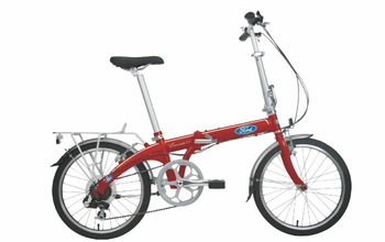 Городской велосипед DAHON Convertible Red (2016)