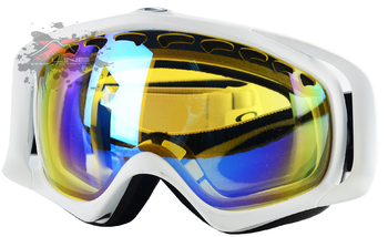 Маска Oakley Crowbar Snow MatteWhite / H.I.Yellow (2016)