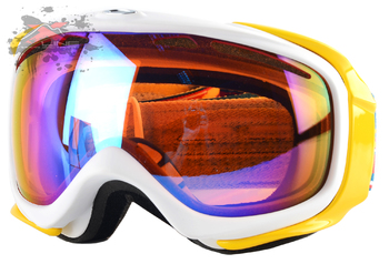 Маска Oakley ELEVATE RIPPED N TORN WHITE ORANGE H.I. PERSIMMON (2016)