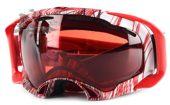 Маска Oakley SPLICE TOPOGRAPHY RED BLACK PRIZM ROSE (2016)