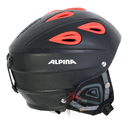 Шлем Б/У Alpina Grap 2.0 Black/Red (2012)
