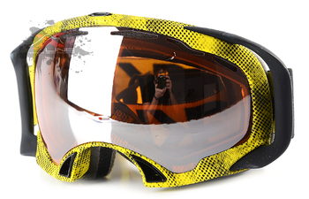 Маска Oakley Splice Venom / Black Irid (2016)