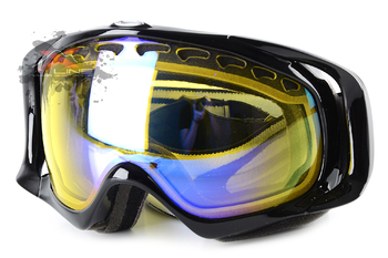 Маска Oakley Crowbar Snow JET BLACK H.I. YELLOW (2016)