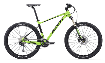 Велосипед MTB Giant Fathom 2 Green/Black (2017)