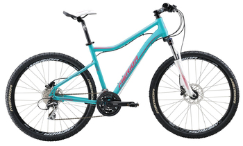 Велосипед MTB Merida Juliet 6.20-D Lake Green(Pink) (2016)
