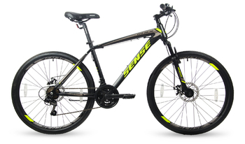 Велосипед MTB SENSE Rapid Disc 260 Black/Yellow/Grey (2017)