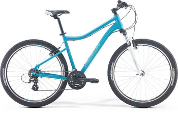 Велосипед MTB Merida Juliet 6.10-V PetrolBlue/White/Silver (2017)