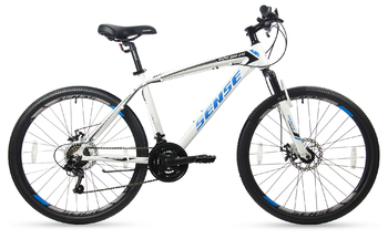 Велосипед MTB SENSE Rapid Disc 275 White/Black/Blue (2017)