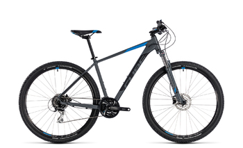Велосипед MTB Cube AIM Race 27.5 grey/blue (2018)