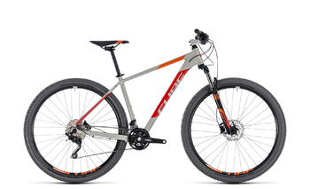 Велосипед MTB Cube ATTENTION 27.5 grey/red (2018)