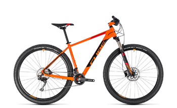 Велосипед MTB Cube ACID 27.5 orange/black (2018)