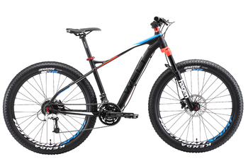 Велосипед MTB Welt Freedom 27 Plus Matt grey/red (2018)