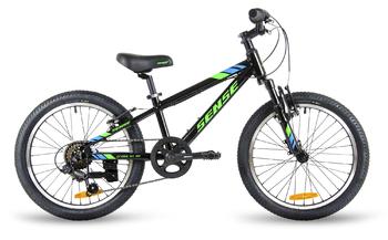 Подростковый велосипед SENSE CROSS SX 20 Black/green/blue (2018)