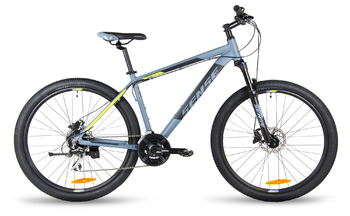 Велосипед MTB SENSE DYNAMIC DISC 275 HD Dark grey/black/yellow (2018)