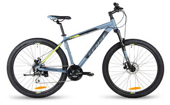 Велосипед MTB SENSE DYNAMIC DISC 275 MD Dark grey/black/yellow (2018)