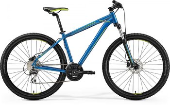 Велосипед MTB Merida Big.Seven 20-D Blue/Green (2019)
