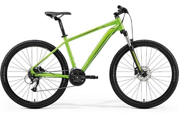 Велосипед MTB Merida Big.Seven 40-D LiteGreen/Black (2019)