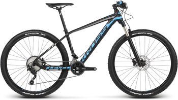 Велосипед MTB Kross Level 7.0 27.5 black/blue/graphite matte (2018)