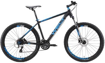 Велосипед MTB Welt Rockfall 3.0 27 Matt Black/Blue/White (2019)