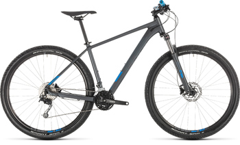 Велосипед MTB Cube AIM SL SE iridium/blue (2019)